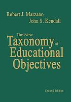 Designing a new taxonomy of educational objectives