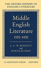 The Oxford history of English literature