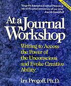 At a journal workshop : writing to access the power of the unconscious and evoke creative ability