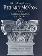 Selected writings of Richard McKeon