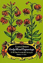"""Early floral engravings : all 110 plates from the 1612 """"Florilegium"""""""