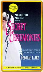 Secret ceremonies