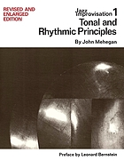 Tonal and rhythmic principlesJazz improvisationTonal and rhythmic principles