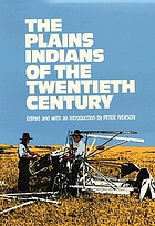 The Plains Indians of the twentieth century