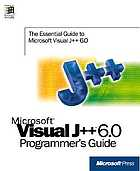 Microsoft Visual J++ 6.0 programmer's guide