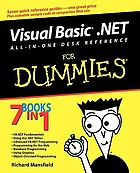 Visual Basic .NET : all-in-one desk reference for dummies