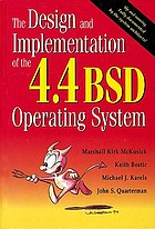 The design and implementation of the 4.4BSD operating systemThe design and implementation of the 4.3 BSD UNIX operating system