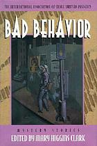 The International Association of Crime Writers presents Bad behavior