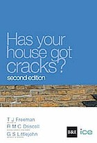 Has your house got cracks? - a homeowners guide to subsidence and heave dam