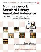 .NET framework standard library annotated reference