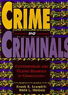 Crime and criminals : contemporary and classic readings