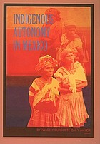 Indigenous autonomy in Mexico