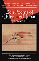 Zen poems of China and Japan : the crane's bill