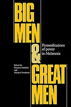 Big men and great men : personifications of power in Melanesia