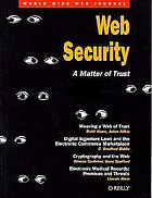 Web security : a matter of trust