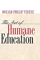 The art of humane education