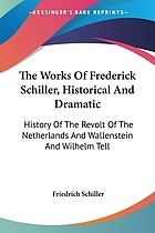 The works of Frederick Schiller