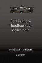 Ibn Coteiba's Handbuch der Geschichte