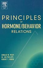 Principles of hormone/behavior relations