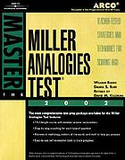 The Miller analogies test