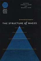 The structure of wages : an international comparison