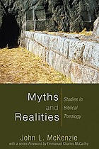 Myths and realities : studies in Biblical theology