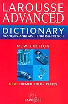 Larousse French-English, English-French dictionary