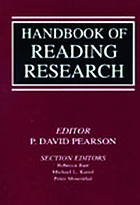 Handbook of reading research