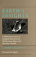Earth's insights : a survey of ecological ethics from the Mediterranean basin to the Australian outback