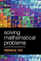 Solving mathematical problems : a personal perspective