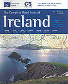 The complete road atlas of Ireland : detailed road maps, city & town maps, touring information, distance chart, motoring information, GUI golf courses, gazetteer