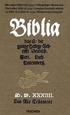 Biblia, das ist, Die gantze Heilige Schrifft deudsch