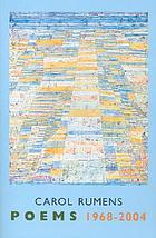 Poems : 1968-2004