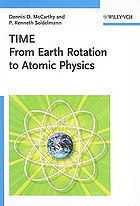 Time : from Earth rotation to atomic physics
