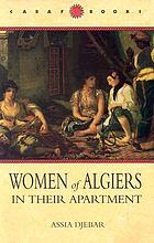 Women of Algiers in their apartment