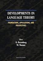 Developments in language theory : foundations, applications, and perspectives : Aachen, Germany, 6-9 July 1999