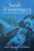 Sarah Winnemucca of the Northern Paiutes