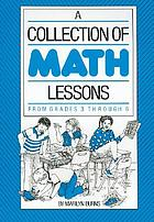 A collection of math lessons : from grades 1 through 3