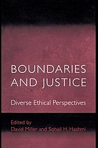 Boundaries and justice : diverse ethical perspectives