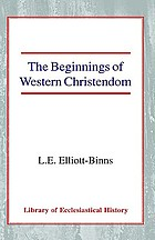 The beginnings of western Christendom