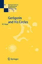 Geršgorin and his circles