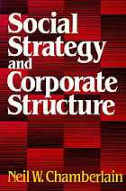 Social strategy and corporate structure