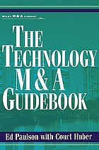 The technology M & A guidebook