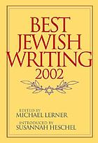 Best Jewish writing, 2002