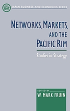 Networks, markets, and the Pacific Rim studies in strategy