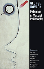 Polemics in Marxist philosophy