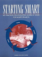 Starting smart key practices for developing scopes of work for facility projects
