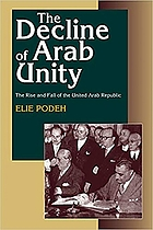 The decline of Arab unity : the rise and fall of the United Arab Republic