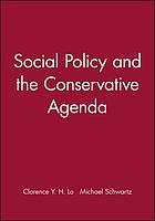 Social policy and the conservative agenda