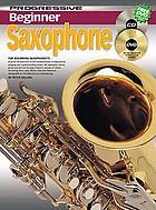 Progressive beginner saxophone